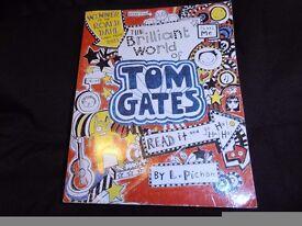 "Children's book. "" The Brilliant World of TOM GATES""."