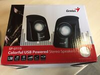 20x USB Powered Stereo Speakers [JOB LOT]