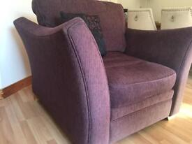Sofa 4 seater and 1 seater armchair