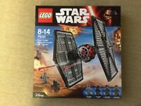 Lego 75101 - Star Wars First Order Special Forces TIE Fighter - Brand New in the Box and Sealed