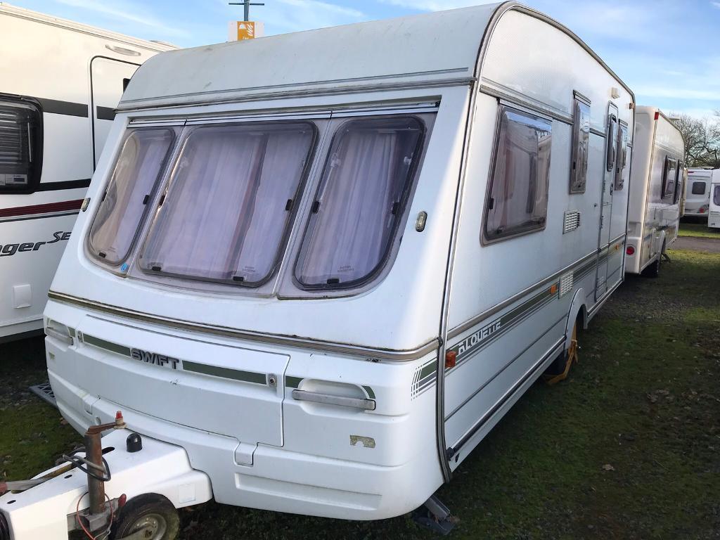 Swift Diamond Alouette caravan 5 Berth 1994 inc Full and ...