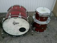 Gretsch Brooklyn kit in Red Oyster she'll pack only.
