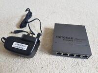 NETGEAR 5-Port Gigabit Ethernet Smart Managed Plus Network Switch
