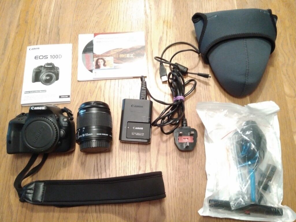 Canon Eos 100d Dslr Camera With Ef S 18 55mm In Kilburn London