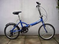 Compact Light Weight Folding/ Commuter Bike by Raleigh, Good Condition, JUST SERVICED/ CHEAP PRICE!!