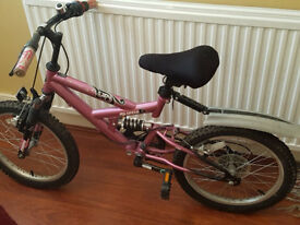 Rebound BMX girls bike