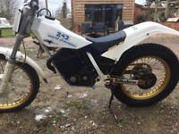 Fantic 243 classic trials motorcycle 1987