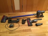 DYSON V6+ Fluffy, plus extra tools. Excellent condition!