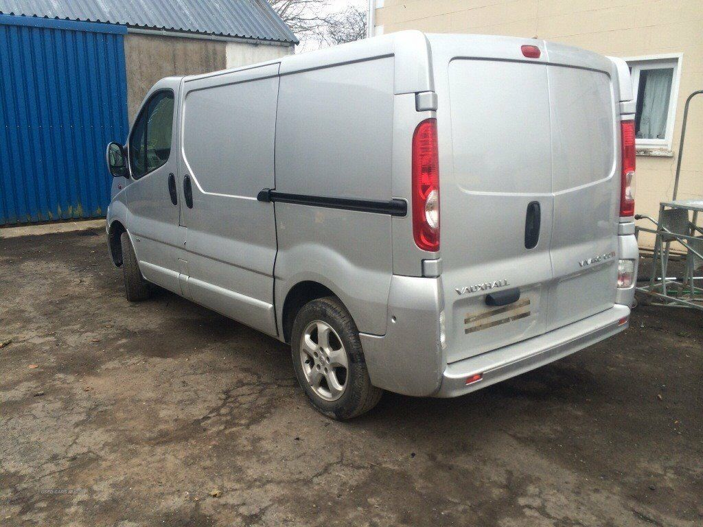 8f22aff9a1 breaking vauxhall vivaro renault trafic sport models silver white colour  all parts available 2007-14
