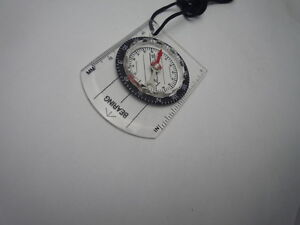 Mini Pocket Compass Baseplate Outdoor Hiking Camping Climbing Templestowe Manningham Area Preview