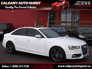 2014 Audi S4 3.0 Progressiv / 6-Speed Manual / LEATHER/ROOF