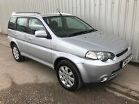 2005 (05) Honda HR-V 1.6 Estate 4WD HRV - MOT till 20th March 2018 - 4 NEW TYRES
