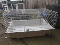 Indoor cage for rabbit or guinea pig