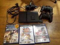 Playstation 2 Bundle (Console, 2 controllers, 25+ games, Memory card)