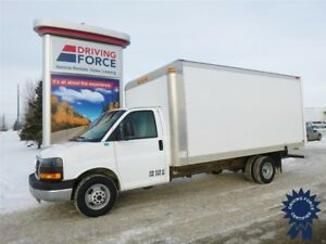 "2015 GMC Savana 3500 DRW 177"" (16' Van Body), Vortec 6.0L V8 Gas"