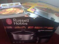 Russell Hobbs Slow Cooker + Cookbook