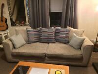 DFS 3 Seater Sofa Beige DELIVERY AVAILABLE