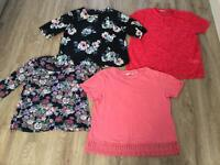 Ladies summer tops size 12-14