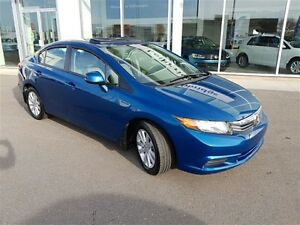 2012 Honda Civic Sedan EX at, Bluetooth, A/C, Cruise, Sunroof