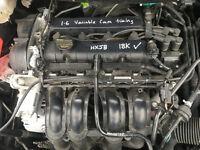 BREAKING - FORD FIESTA 2009-2016 - 1.6 16V VVTI PETROL ENGINE HXJB- ALL PARTS AVAILABLE