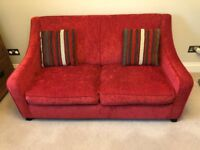 2 Seater Compact Sofa Bed
