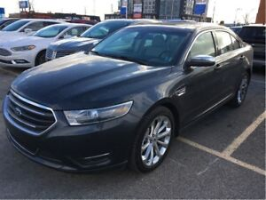 2017 Ford Taurus 0% LEASE OR FINANCE, AWD, NAV, ROOF, LOW KM'S!