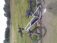 Electric bike Carrera cross fire W16 Excellent Condition little used