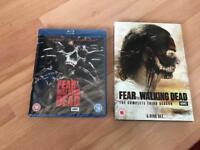 Fear The Walking Dead Season 1-3 Blu-Ray And DVD Brand New
