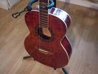 Fender accoustic T Bucket, case and strap