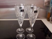 "Royal Doulton ""AYLESBURY"" Wine or Champagne Glass - 23.3cms (9-1/8"") tall x 4"