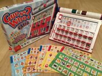 Guess Who? EXTRA Board Game (electronic & expanded)