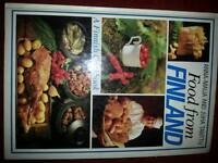 Finland cookery book