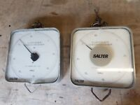 2 Large Salter Shop Weighing Scales