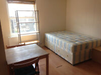 063T-WEST KENSINGTON- MODERN DOUBLE STUDIO FLAT, FULLY FURNISHED, BILLS INCLUDED - £220 WEEK