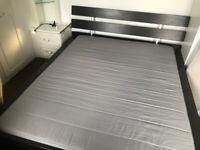 IKEA HOPEN Bed Frame + Matress