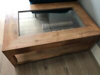 Lombok solid oak coffee table