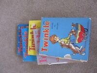 Vintage Twinkle and Jack and Jill Annuals