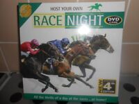 NEW & SEALED - HOST YOUR OWN RACE NIGHT DVD GAME - 4TH EDITION