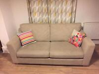 Two seater sofa/sofa bed