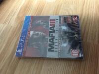 ps4 Mafia 3 deluxe edition new sealed