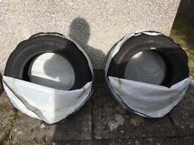 2 winter tyres 195/65TR15 Goodyear UG9 MS COV for Toyota Auris