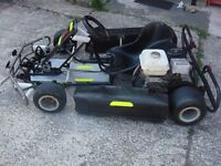for sale go-kart honda engine 160cc start and runs ready to go