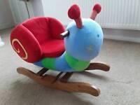 Mamas & Papas Stanley snail rocker/ride on