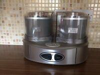 Cuisinart Ice-ream Maker 2 x 1 Litre Bowla (ex cond)