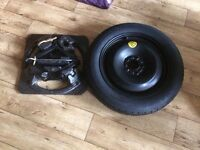 Ford Focus new spare wheel with jack n tools