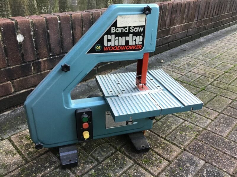 BENCH MOUNTED CLARKE BANDSAW for sale  Burgess Hill, West Sussex