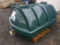 Titan 1200 litre oil tank or diesel storage tank