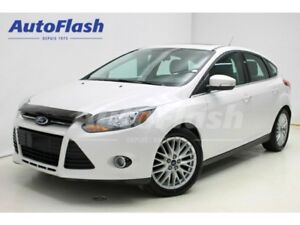 2014 Ford Focus Titanium *Navigation* Cuir/Leather *Toit-Ouvrant