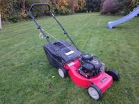 Sovereign Briggs and Straton 450 petrol lawnmower