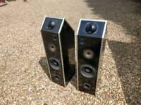Huge pair of house speakers